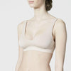About: Antimicrobial Soft Cup Bra - Beige