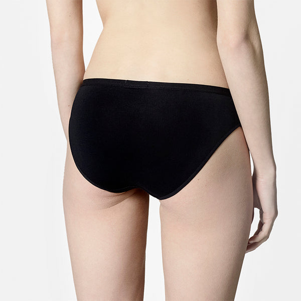 About: Antimicrobial Low Briefs - Black