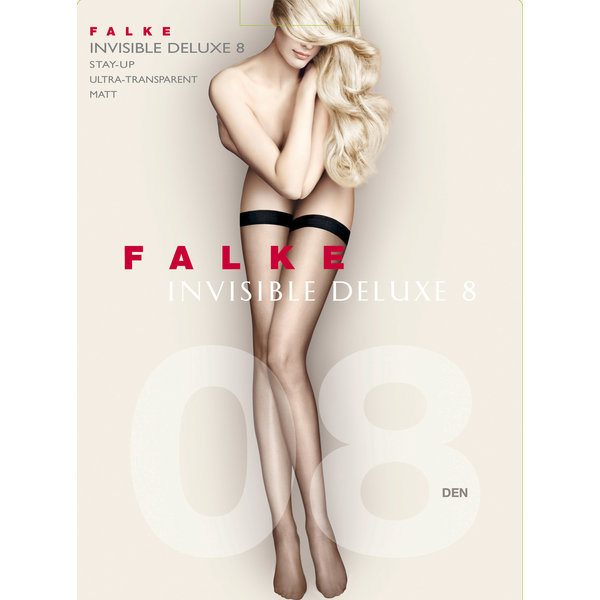 Falke: Invisible Stay Ups - Black