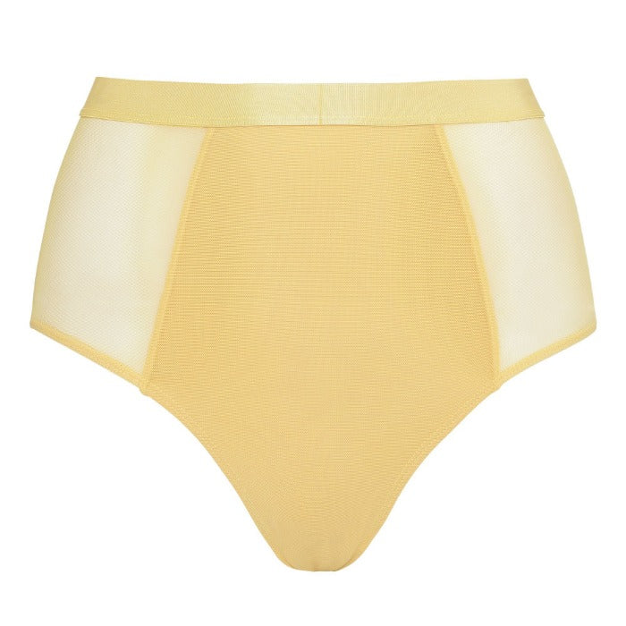 Moons & Junes: Ewe High-Waisted Brief - Yellow