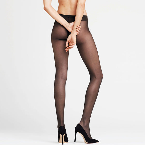 Falke: Fonde de Poudre Sheer Tights - Black