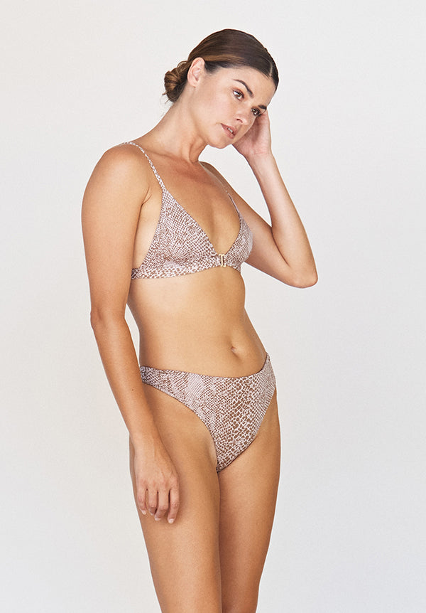 Acacia: Brazil Thong - Brown Snake