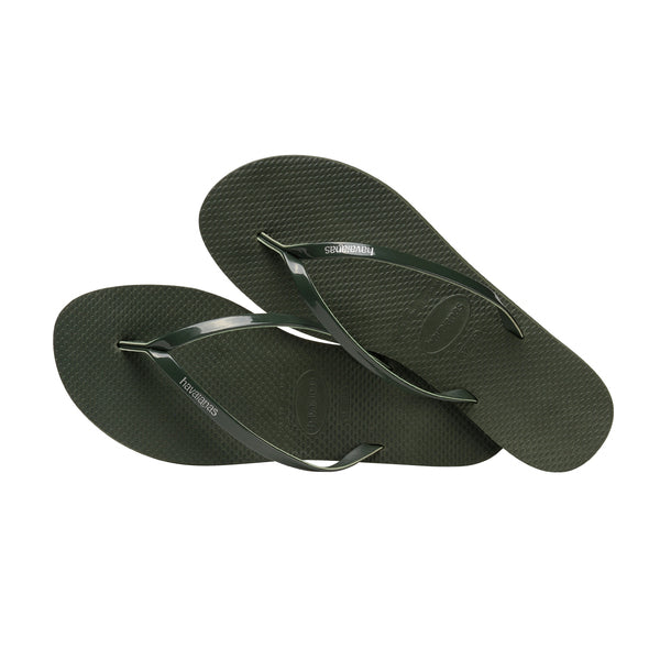 Havaianas: You Flip Flop - Olive Green