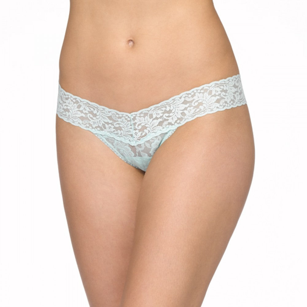 Hanky Panky:  Low Rise Signature Lace Thong - Fashion Colors