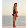 Haight: Rachel Plunge 1 Piece - Black