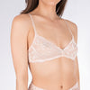 Clo: Fortuna Lace Wireless Soft Bra - Rosa Cuarzo