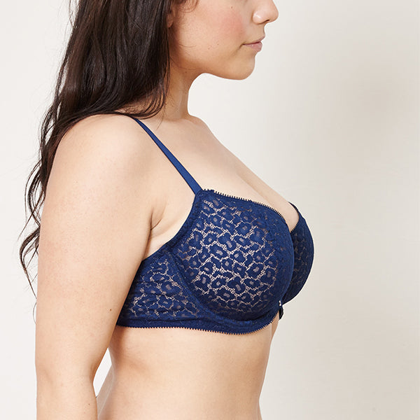 Beija London: Z Full Cup Underwire Bra - Leopard