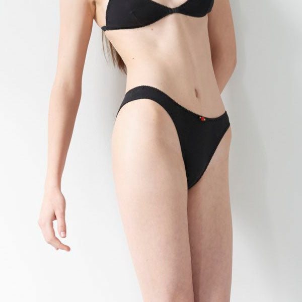 Hello Beautiful: French Cut Panty - Black