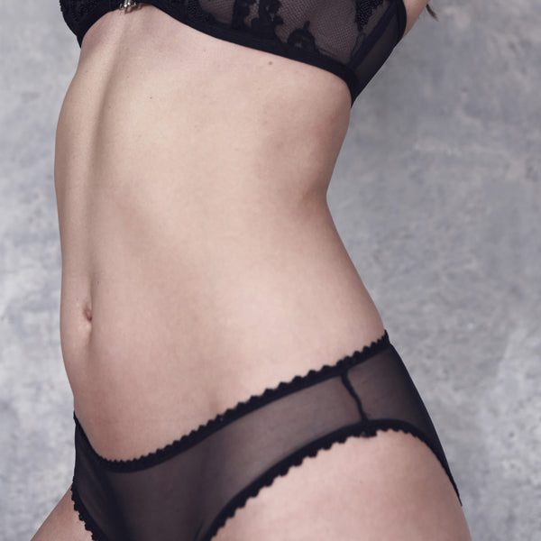 Taryn Winters: Colette Brief - Black