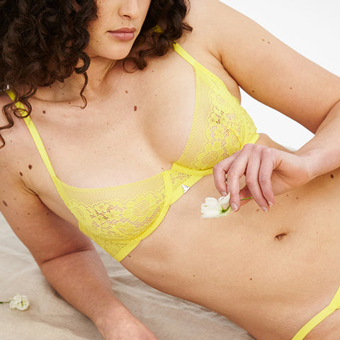 Beija London: Forecast Y Demi Bra - Sunflower Yellow