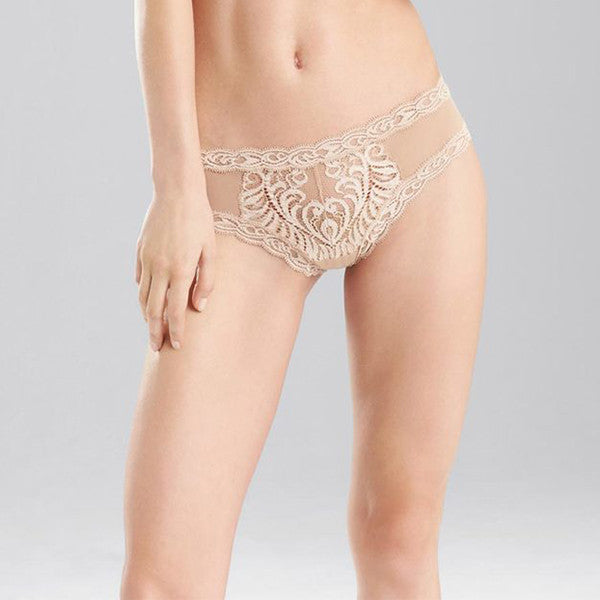 Natori: Feathers Hipster Brief - Cafe