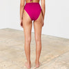 Mara Hoffman: Goldie High Waisted Tie Bottom - Levante