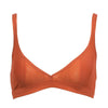 Moons & Junes: Kachi Wireless Triangle Bra - Clay