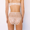 Lonely: Lena High-Waisted Brief - Biscuit