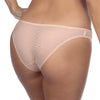 Duet by Timpa: Mesh Bikini Brief - Beige