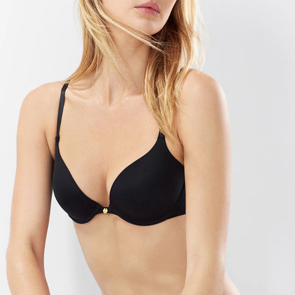 Natori: Pristine Padded Push Up T-Shirt Bra - Black