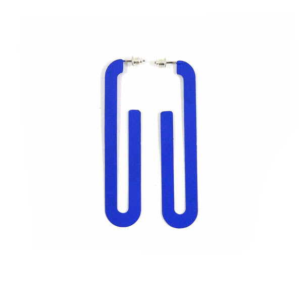 Sibilia: Road Earring - Klein Blue