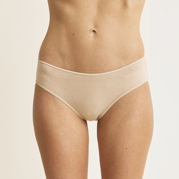 Skin: Organic Cotton Boyshort Brief - Fashion