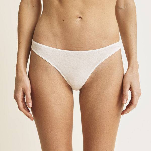 Skin: Organic Cotton Thong - Basics