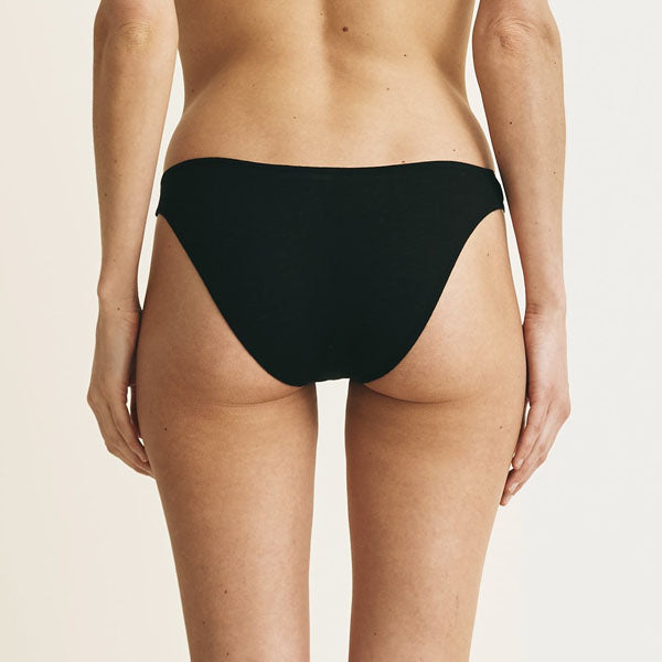 Skin: Organic Cotton Bikini Brief - Fashion