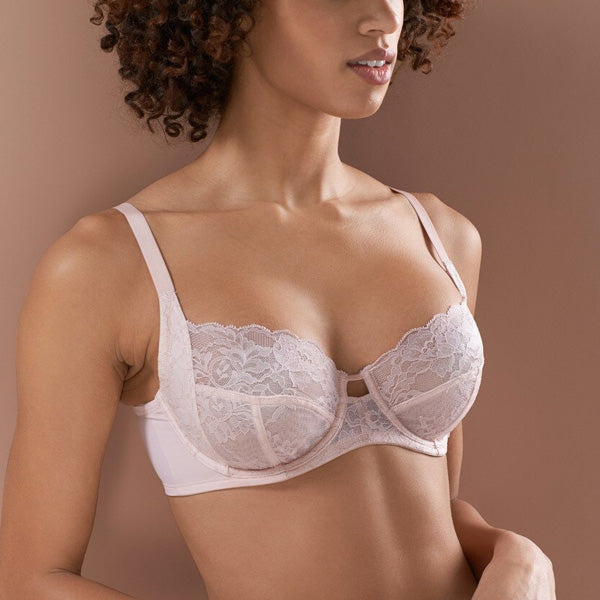 Natori: Statement Full Cup Bra - Cameo Rose