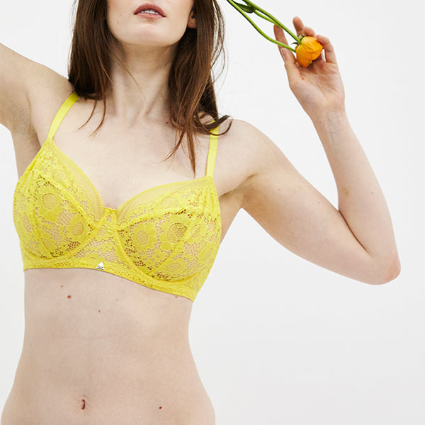 Beija London: Forecast Z Full Underwire Bra - Sunflower Yellow