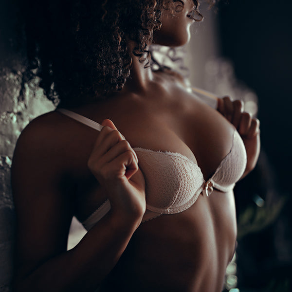 Duet By Timpa: Padded Lace Bra - Beige