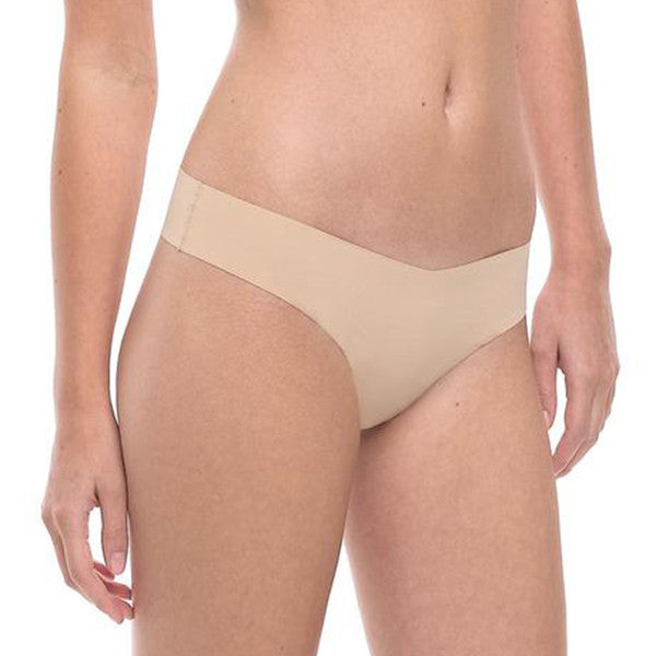 Commando: Seamless Thong - Beige