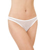 Only Hearts: Whisper Basic Thong - White
