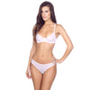 Duet by Timpa: Mesh Bikini Brief - White