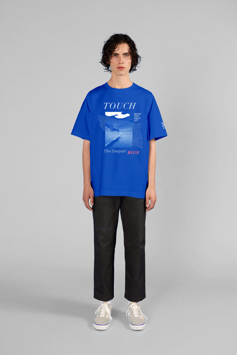 'Touch' T-shirt (The Deepest Blue) - Mercanie