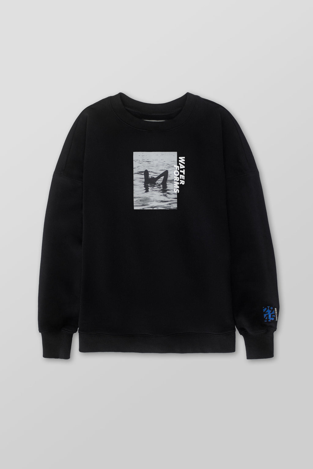 'Woman Silhouette' Sweatshirt (Black) - Mercanie