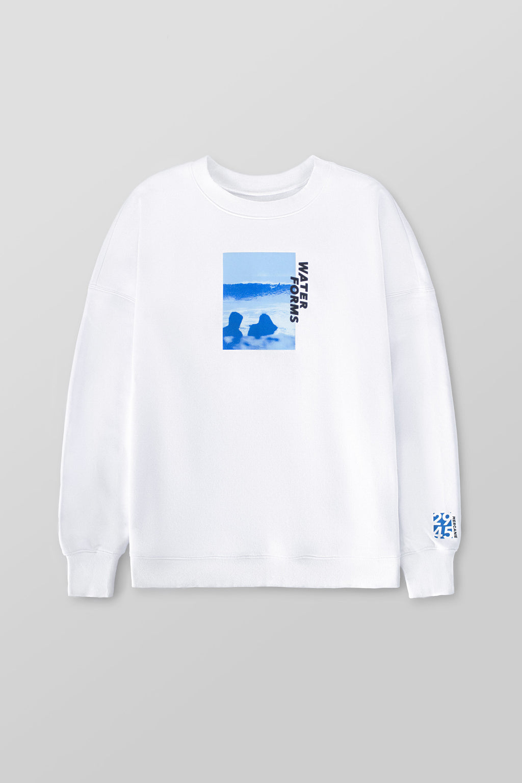 'Together by the sea' Sweatshirt (White) - Mercanie