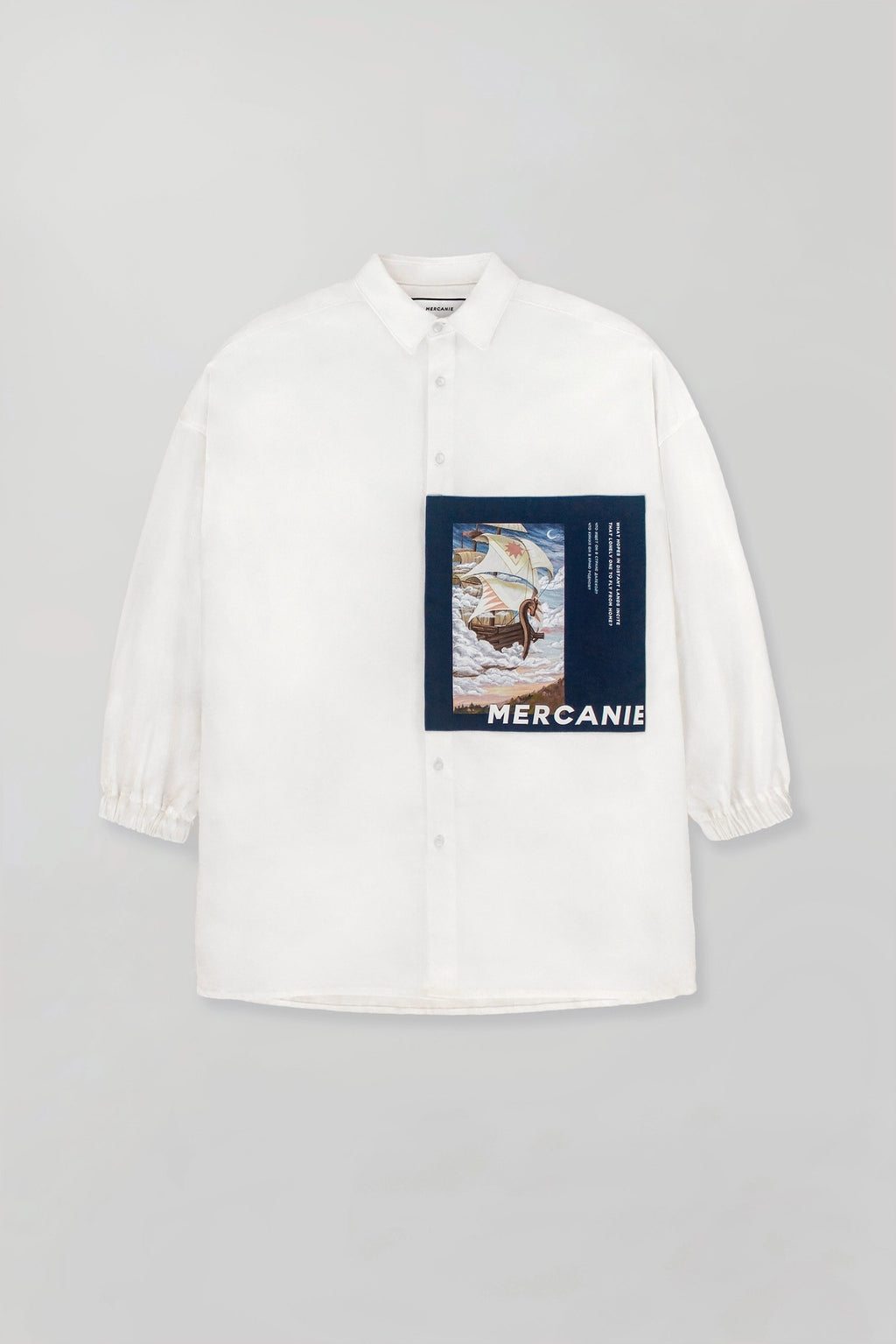 "Mercanie - oversized shirt ""Sail"""