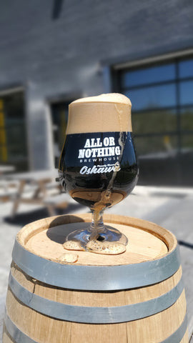 Tulip Sniffer Glass - All or Nothing Brewhouse