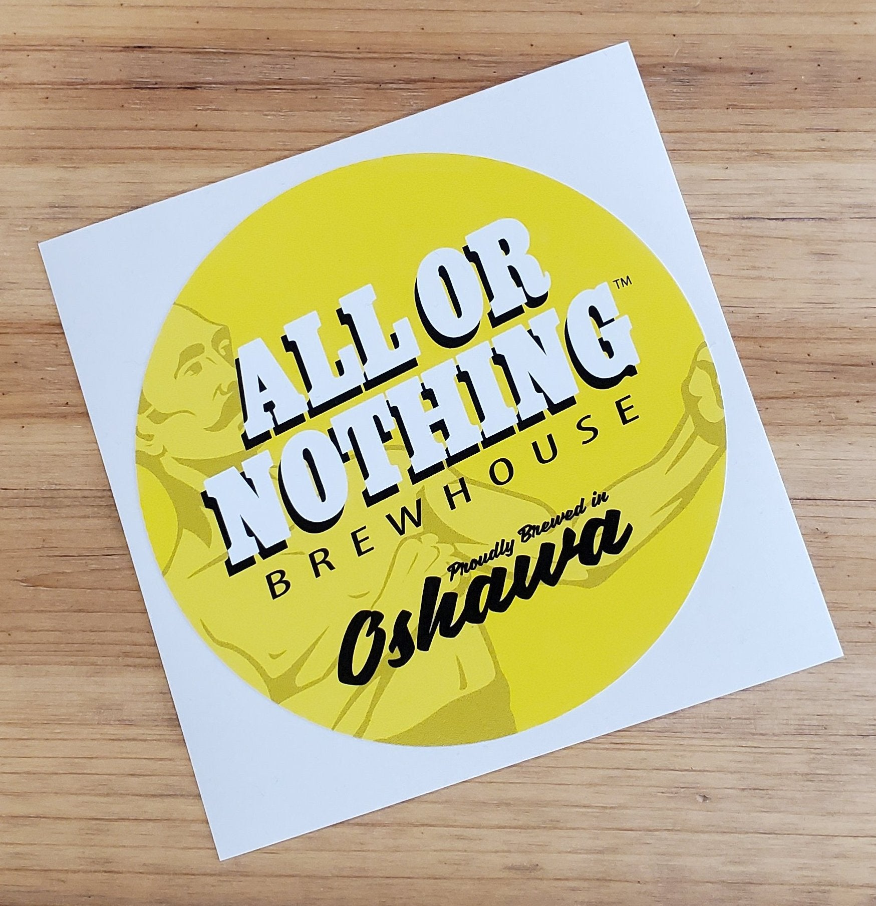 All or Nothing Patch Sticker