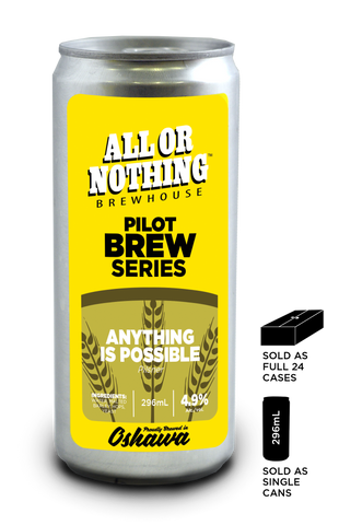 Anything Is Possible - Pilsner - 296 ml - All or Nothing Brewhouse