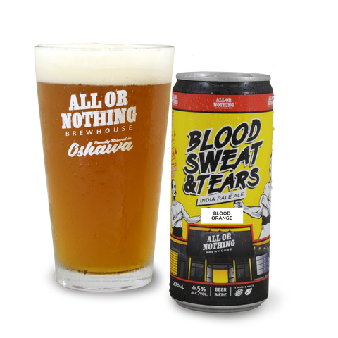 Blood, Sweat & Tears IPA with Blood Orange - 296 ml
