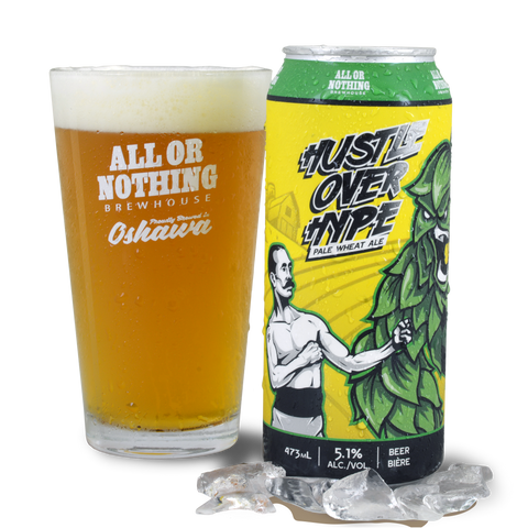 Hustle Over Hype Pale Wheat - 473 ml