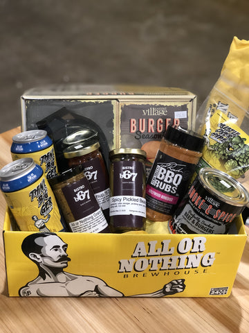 BBQ Burger Basket - All or Nothing Brewhouse
