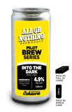 Into The Dark - Black Lager - 296 ml - All or Nothing Brewhouse