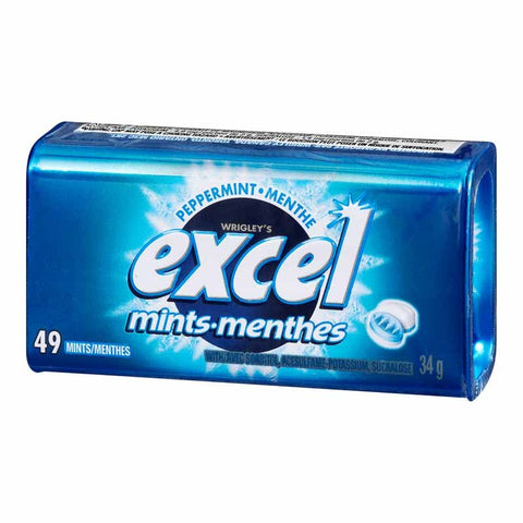 Excel Peppermint Mints