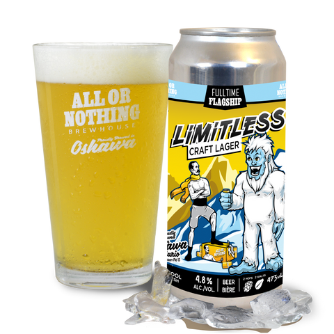 Limitless Lager - 473 ml