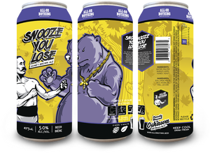 Snooze You Lose Honey Brown Ale - 473mL