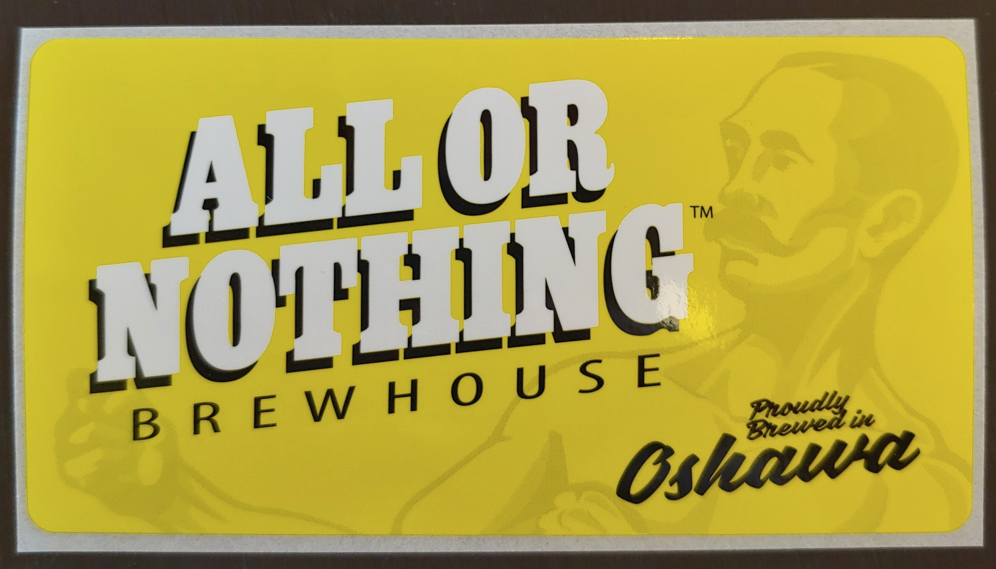 AON Sticker - All or Nothing Brewhouse