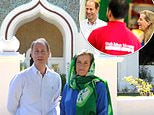 Prince Edward and Sophie Wessex mark Eid by volunteering at the Shah Jahan Mosque in Woking