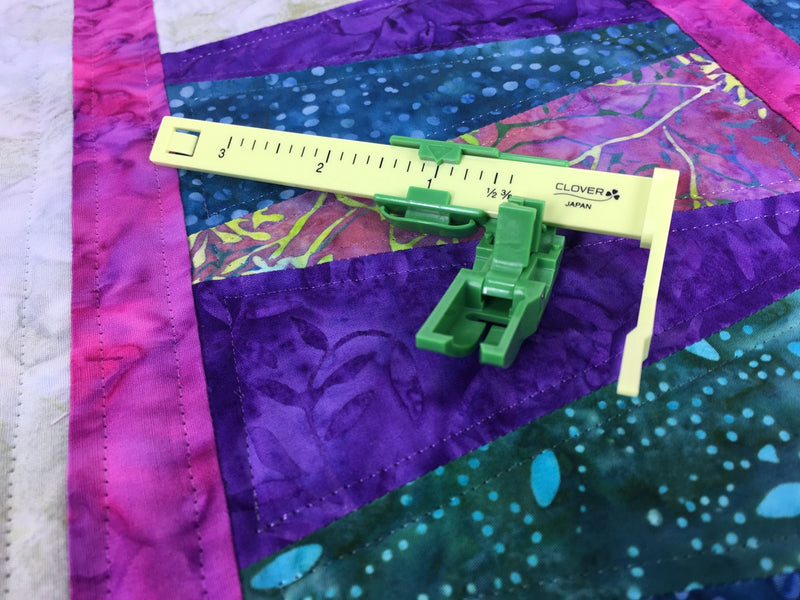 Straight Line Machine Quilting with The Ultimate Quilt 'n Stitch Presser Foot & Gallery of Quilts