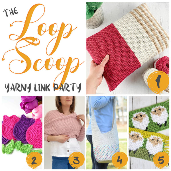 This round of the Loop Scoop features 5 fantastic new (mostly) free crochet patterns to add color to every bit of your life! Be sure to check out the new additions and links at the bottom as well, to help us decide what gets featured next round!...