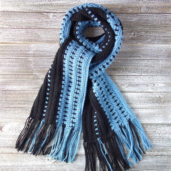 Crochet Scarf for Men