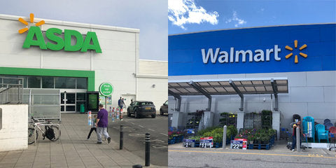 We compared Walmart in the US to its UK sister store Asda, and while both offer a variety of food, Asda takes it to the next level (WMT)